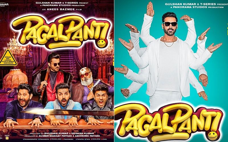 John Abraham Continues Sharing Some Pagalpanti Moments, Unveils 3 New Posters