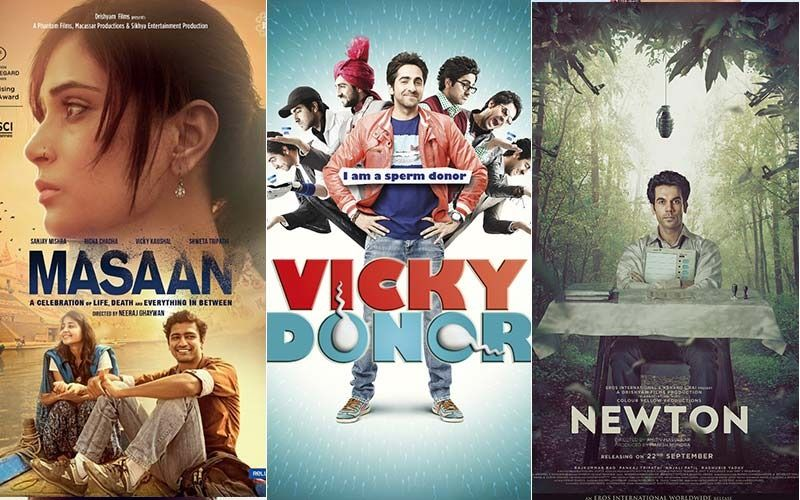 Masaan, Vicky Donor, Newton And More Content Driven Movies One Can Just Binge On Netflix And Amazon Prime Video