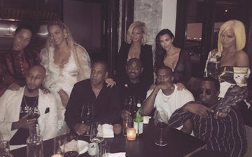 Kim, Kanye, Beyonce And Jay Z Had Dinner Together And We Have No Idea Why