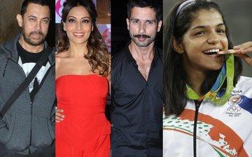 Aamir, Bipasha, Shahid congratulate Sakshi Malik on her Olympic win