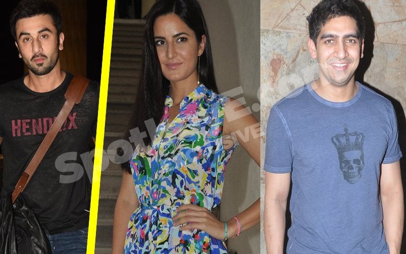 Katrina Meets Ranbir's Best Friend Ayan, Ranbir Wasn't Around