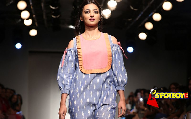 LFW Day 2: Radhika is a big baby