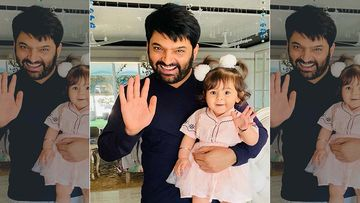 Kapil Sharma Posts A Cute Picture Of His Daughter Anayra Wishing A Good Morning, His Colleagues Shower Her With Adorable Comments