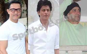 The Khans and their grand Eid celebrations