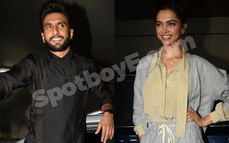 We know what Ranveer & Deepika did last night