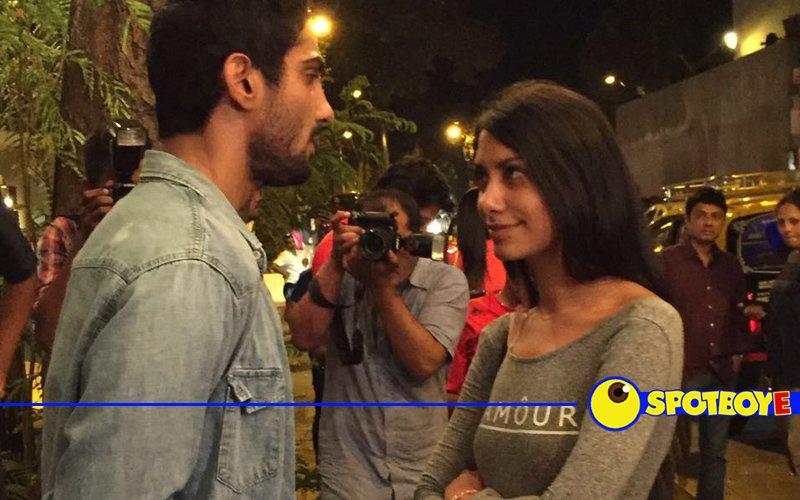 Prateik Babbar and his mystery girl