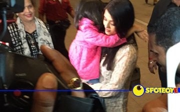 Aishwarya back in city from Cannes