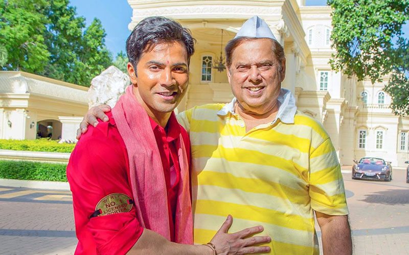 Varun Dhawan Wishes His Daddy No. 1 David Dhawan On His 64th Birthday, Natasha Dalal Too Comments On His Post