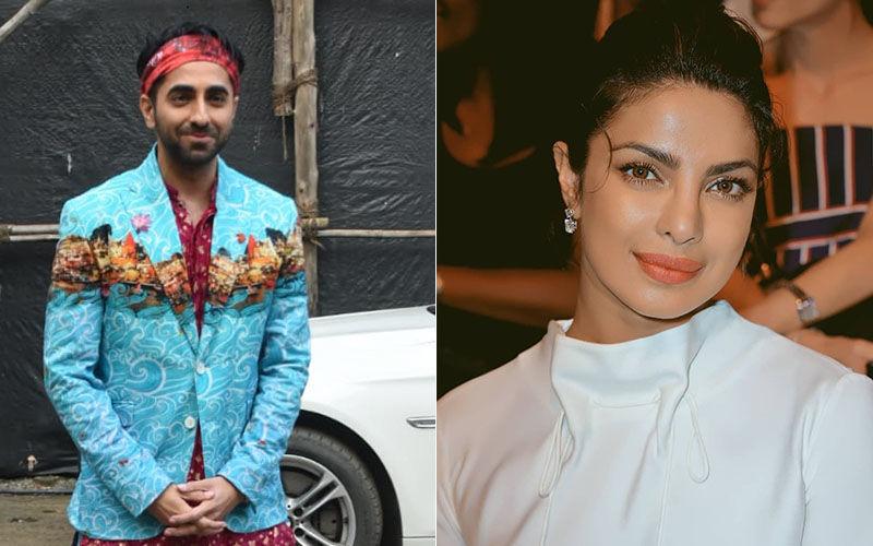"Ayushmann Khurrana Supports Priyanka Chopra In The Pak Row; Says, ""She Represents India Really Well"""