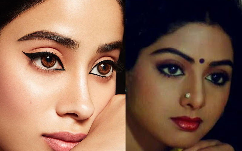 Janhvi Kapoor's Latest Picture Reminds Us Of Sridevi From Chandni
