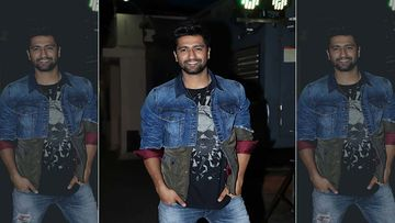 Vicky Kaushal Sweats It Out In The Gym And Treats His Fans With A Rugged Picture