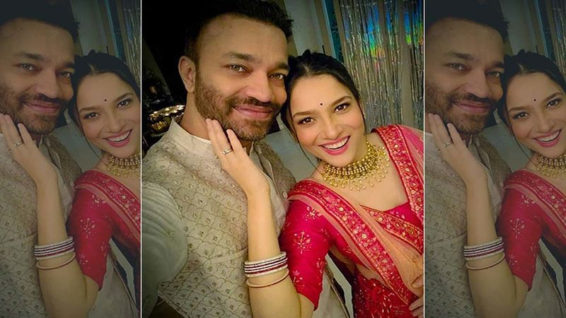 Diwali 2020: Ankita Lokhande Schools Boyfriend Vicky Jain 'Baby, You Don't Talk Like This On Social Media' In A Video From Diwali Party- WATCH