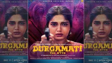 Durgamati: Bhumi Pednekar Unveils The Character Poster; Leaves The Audience On A Hook With Her Caption 'Victim Or Mastermind'
