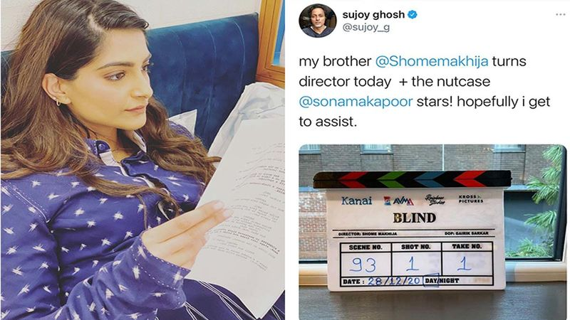 Sonam Kapoor Announces Her Next Titled Blind; The Remake Of Korean Action Thriller To Be Shot In Glasgow
