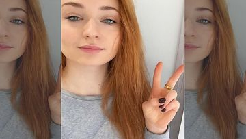 Sophie Turner Opts For A Layered Look To Cover Her Belly Post Pregnancy News Surfaces On The Internet - PICS