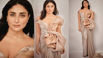 Kareena Kapoor Khan Looks Nothing Less Than A Flawless Princess In A Pastel Off-Shoulder Gown; PICS HERE