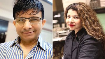 KRK EXPOSES Sambhavna Seth; Shares Sting Operation Video Revealing Actress' Charge For SM Posts