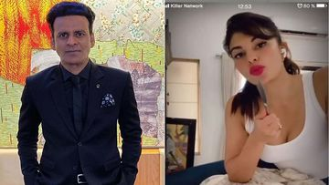 Mrs Serial Killer On Netflix: Jacqueline Fernandez Threatens Manoj Bajpayee With A Knife On Video Call As They Announce Show's Premiere