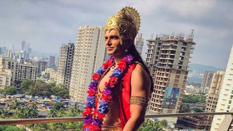 Pyar Ki Luka Chuppi Actor Rahul Sharma Dresses Up As God To Shoo Off Coronavirus Scare From The World