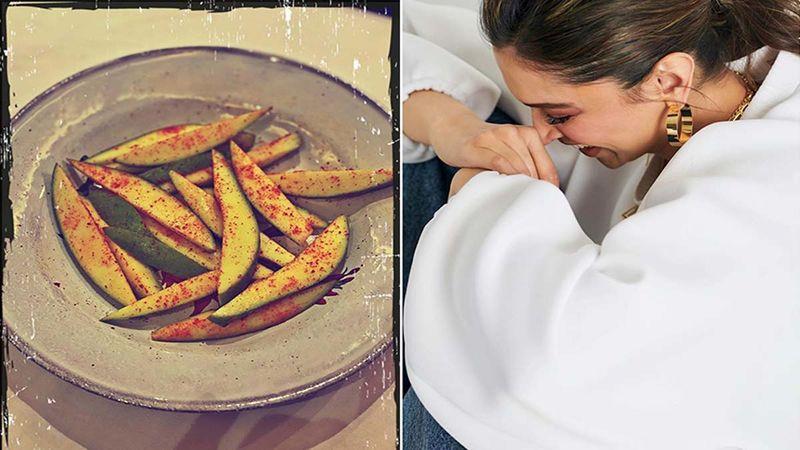 After Kareena Kapoor, Deepika Padukone Finds Love In A Plate Of Kacchi Kairi; Fans Are Curious, 'Good News, Bhabhi?'