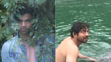 Irrfan Khan's Son Babil Khan Shares Videos Of The Late Actor Taking A Dip In Freezing Cold Water; We Got Goosebumps Seeing This
