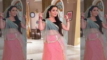 Bhabiji Ghar Par Hain: Angoori Bhabi AKA Shubhangi Atre Shares She Does Several Touch Ups As The Mask Messes Up Makeup
