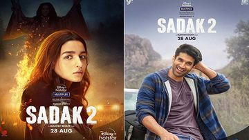 Sadak 2 First Look Posters OUT: Trailer Of Alia Bhatt, Aditya Roy Kapur and Sanjay Dutt  Starrer To Release Tomorrow