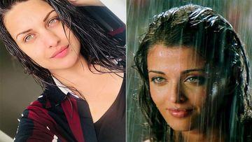 Himanshi Khurana's Latest Zero Makeup Look Has An Uncanny Resemblance To Aishwarya Rai Bachchan's Old Picture