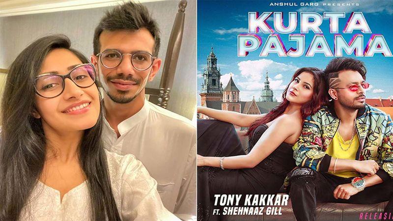 Indian Cricketer Yuzvendra Chahal And Ladylove Dhanashree Verma Groove To Shehnaaz Gill's Kurta Pajama Number-Watch Video