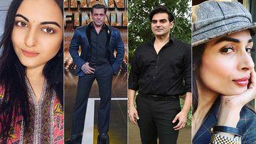 Sonakshi Sinha Rejoices As She Completes A Decade In Bollywood; Salman Khan, Arbaaz, Malaika Celebrate 10 Years Of Dabangg