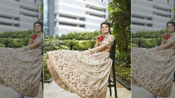 Radhika Madan Looks Like A Quintessential Bride On The Cover Of Wedding Vows Magazine