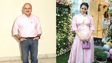 Anupam Kher Comes In Support Of Kangana Ranaut As BMC Demolishes Her Office; Actor Says, 'Galat Galat Galat'