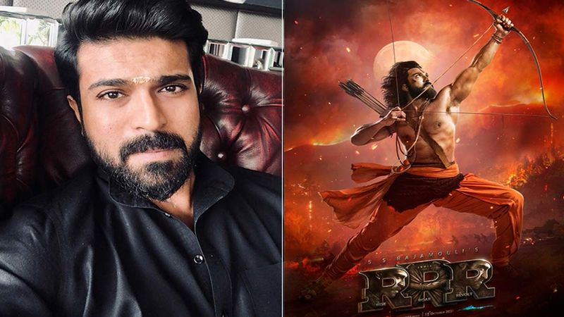 Ahead Of His Birthday, Actor Ram Charan Amazes His Fans With His First Look From RRR; Introduces The Fierce Alluri Sita Ramaraju