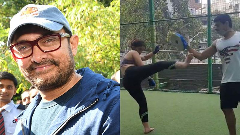Aamir Khan's Daughter Ira Khan Practices Kickboxing With Beau Nupur Shikhare; Star Kid Gives Sneak-Peek Into Training Session-WATCH