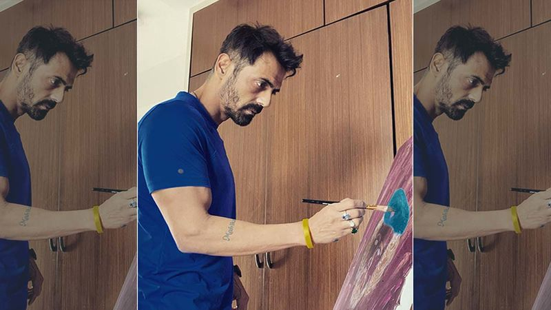 COVID-19 Positive Arjun Rampal Shares Glimpses From His Quarantine Life, Responds To A Fan Who Asks 'Who Clicked' The Pictures