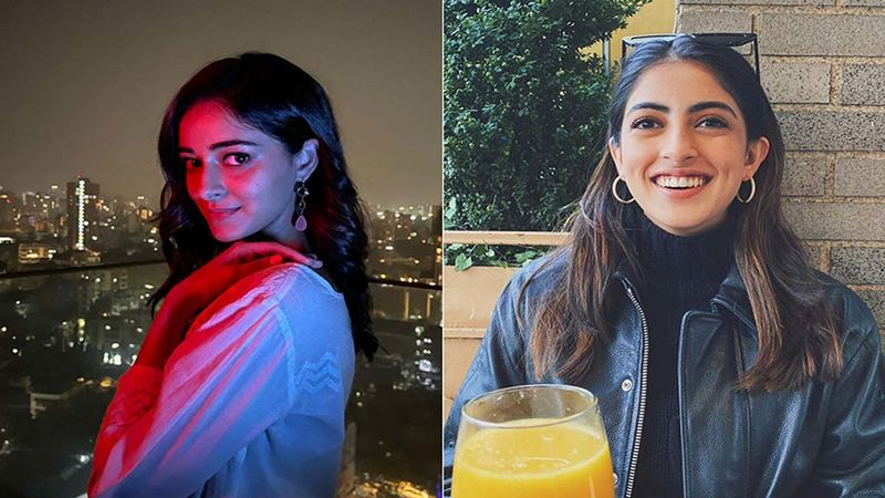 While Ananya Panday Greeted Her Fans With A Blissful Selfie She Gets A Reaction From Her Bestie Navya Naveli Nanda