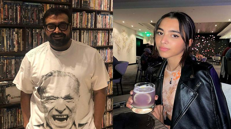 Anurag Kashyap's Daughter Aaliyah Kashyap Treats Him For The First Time With Her Hard Earned Money; Proud Daddy Documents The Moment