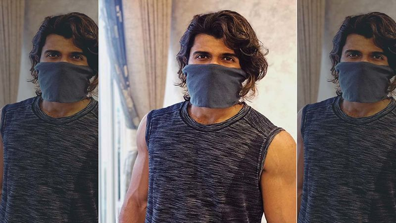 Vijay Deverakonda Flaunts His Toned Abs In This Picture From Dabboo Ratnani's Calendar Shoot
