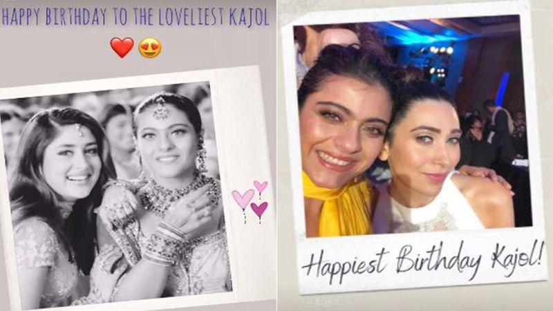 Happy Birthday Kajol: Kareena Kapoor Khan, Karisma Kapoor, And Others Bless The Actor With Warm Wishes