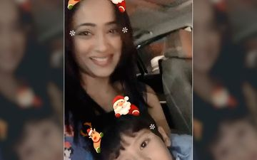 Shweta Tiwari's Christmas Wish With Her Son Reyansh Is The Cutest One You Will Ever See- Video Inside