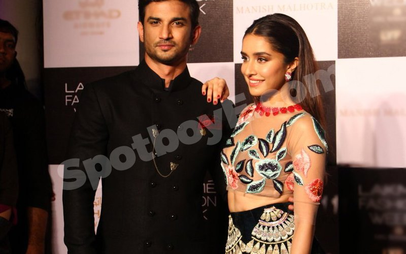 Video: Sushant Singh Rajput makes a debut on the ramp with Shraddha Kapoor