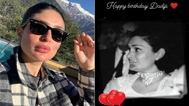 Kareena Kapoor Khan Remembers Her Late Grandmother Krishna Raj Kapoor On Her Birth Anniversary, Shares A Stunning Picture Of Her 'Dadiji'