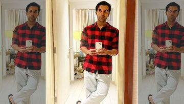 Rajkummar Rao Sweats It Out In The Gym, As He Beefs Up For His Next Badhaai Do