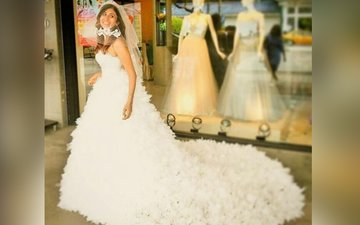 Bride-to-be Kishwer Merchant is glowing with happiness