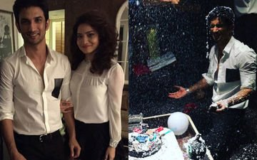 Watch Sushant celebrate his b'day with Ankita