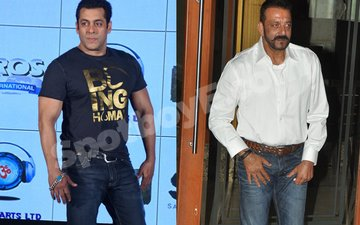 THE COLD WAR CONTINUES: Salman and Sanjay party separately at IIFA