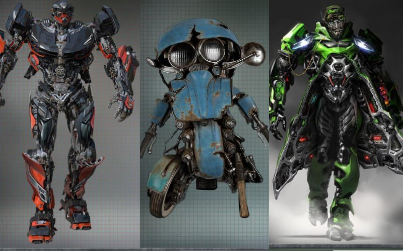 New Transformer film concept art reveals a darker them