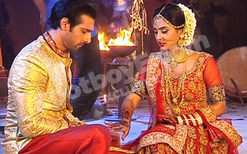 Scary Twist! Rishabh & Raina Get Married To Trap Brahmarakshas!!