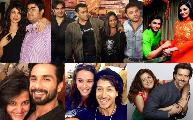 RAKSHA BANDHAN SPECIAL: Bollywood Stars And Their Siblings