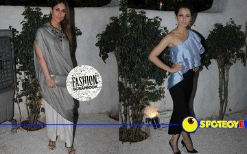 Are Kareena and Kangana giving style tips to each other?